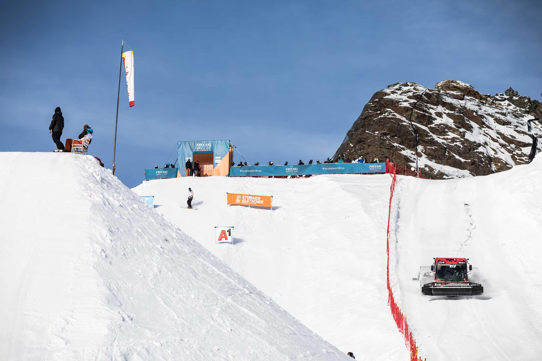 Bild vom FIS Freeski Worldcup Stubai 2018